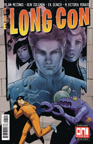The Long Con #1 (Del Duca Cover)