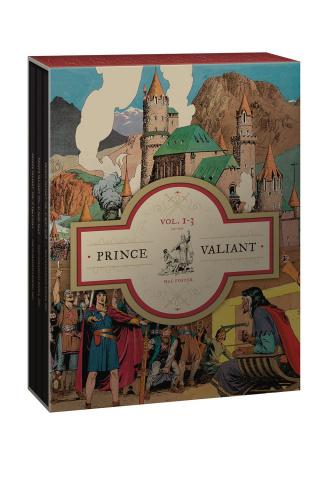 Prince Valiant Vols. 1-3: 1937-1942