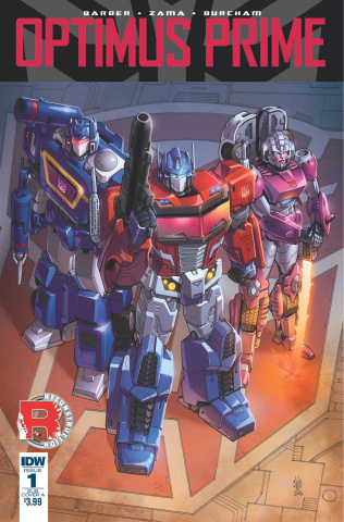 Optimus Prime #1 (Subscription Cover)