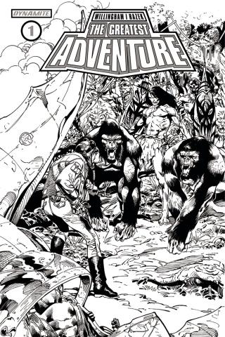 The Greatest Adventure #1 (10 Copy Castro B&W Cover)
