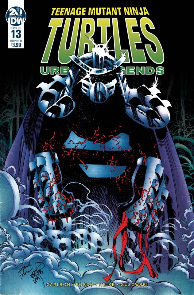 Teenage Mutant Ninja Turtles: Urban Legends #13 (Fosco & Larsen Cover)