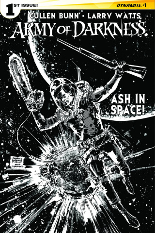 The Army of Darkness #1 (10 Copy Hardman B&W Cover)
