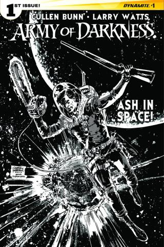 Army of Darkness #1 (10 Copy Hardman B&W Cover)