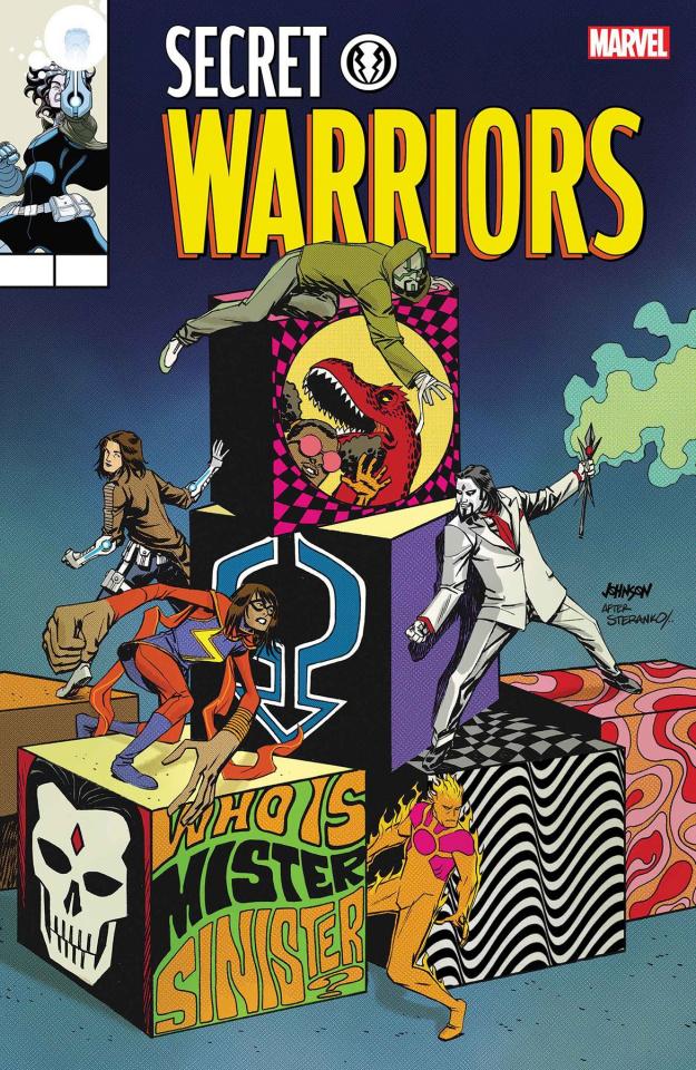 Secret Warriors #8 (Johnson Cover)