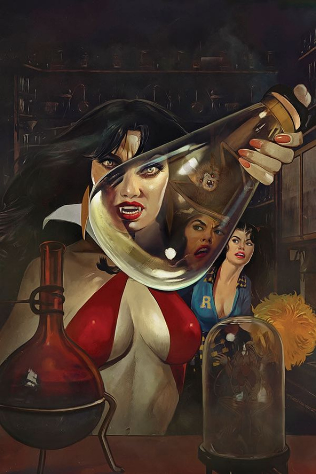 Red Sonja and Vampirella Meet Betty and Veronica #4 (Dalton Virgin Cover)
