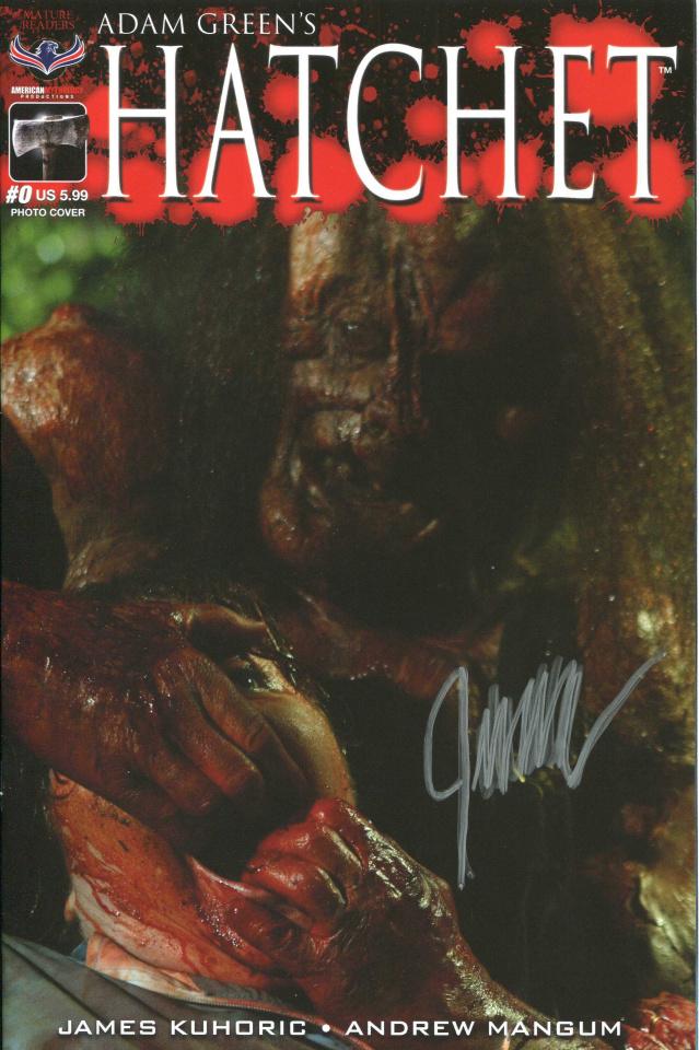 Hatchet #0 (Signed Cover)
