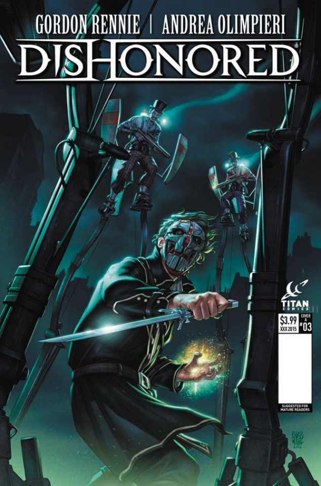 Dishonored #3 (Wahl Cover)