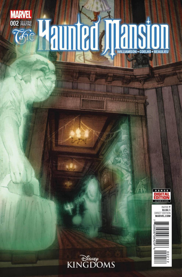 The Haunted Mansion #2 (Gist 2nd Printing)