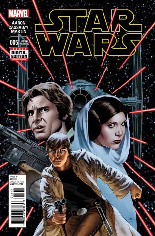 Star Wars #5 (Cassaday 2nd Printing)