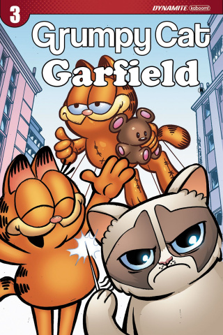 Grumpy Cat / Garfield #3 (Ruiz Cover)