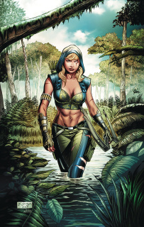 Robyn Hood: The Hunt #5 (George Cover)