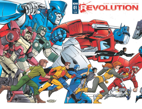 Revolution #1 (Subscription Cover B)