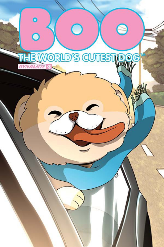 Boo: The World's Cutest Dog #3 (Uy Cover)