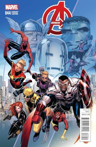 Avengers #44 (Cheung End of an Era Cover)