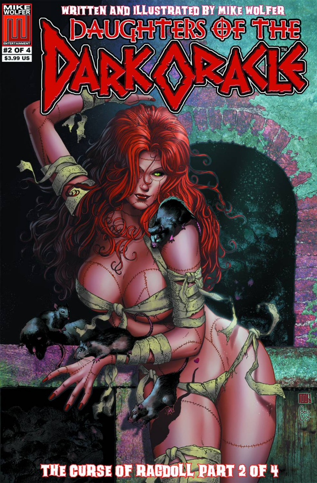 Daughters of the Dark Oracle #2: Curse of the Ragdoll
