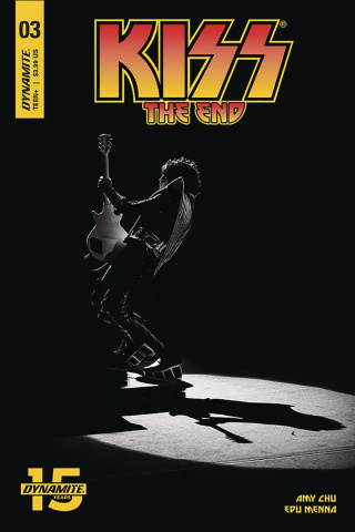 KISS: The End #3 (Photo Cover)
