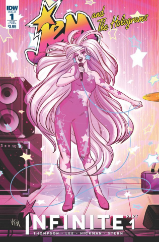 Jem and The Holograms: Infinite #1 (Subscription Cover)