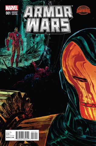 Armor Wars #1 (Del Rey Cover)