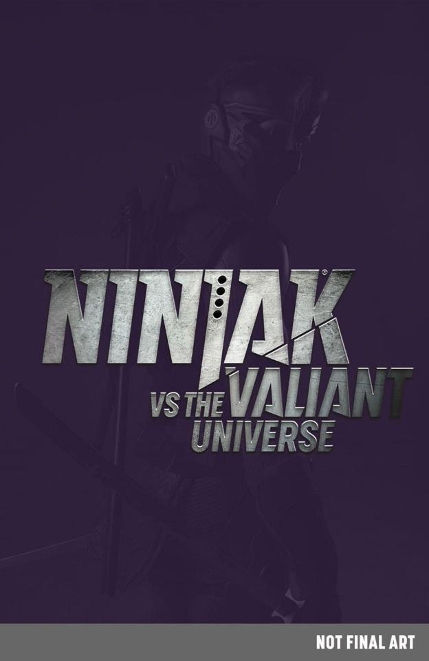 Ninjak #0 (Ninjak vs. the Valiant Universe Cover)