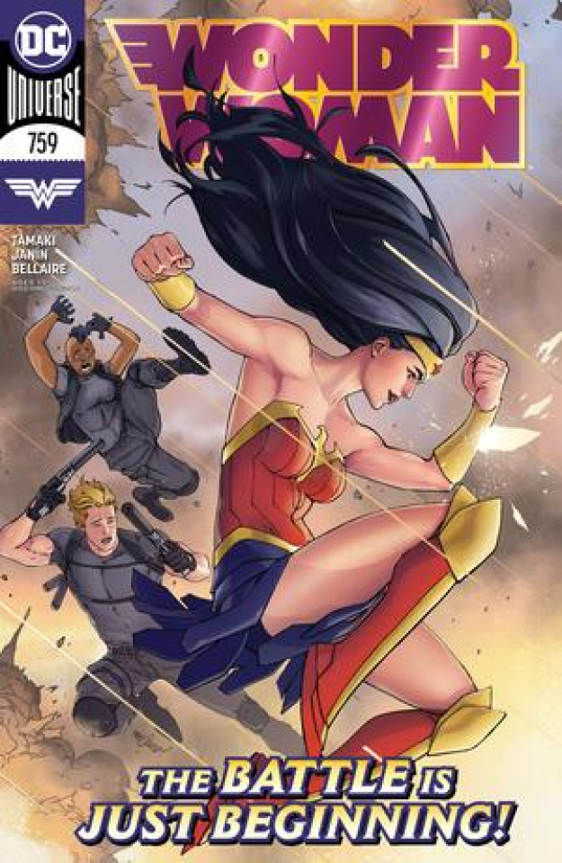Wonder Woman #759 (David Marquez Cover)
