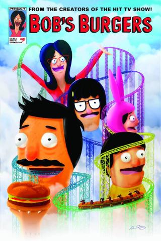 Bob's Burgers #5 (Wong Cover)