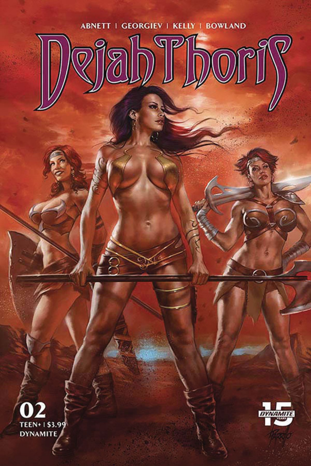 Dejah Thoris #2 (Parrillo Cover)