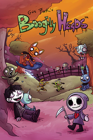Boogily Heads #1 (Free Fink Cover)