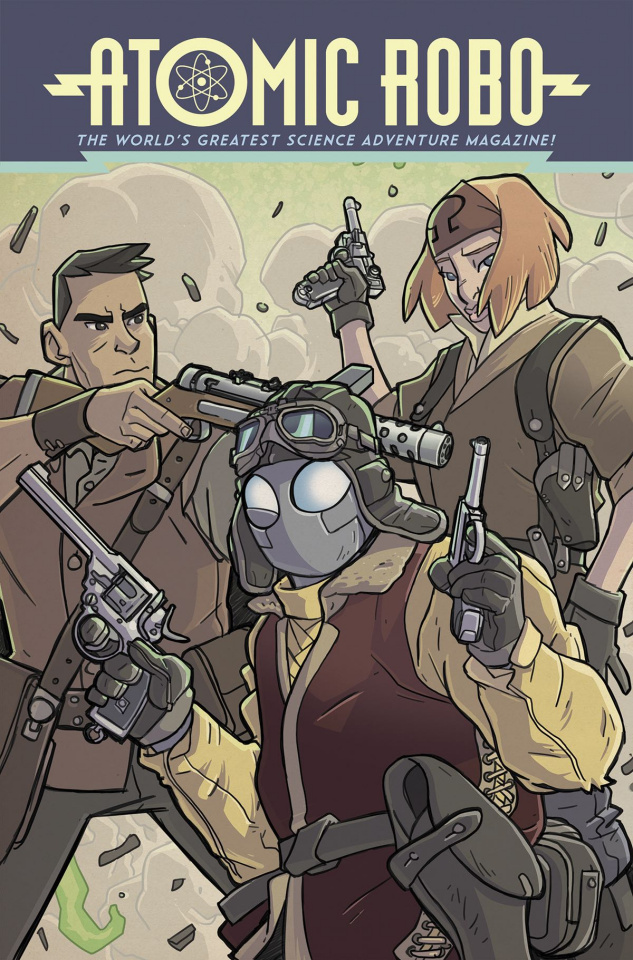 Atomic Robo Vol. 11: Atomic Robo and The Temple of Od