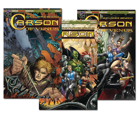 Carson of Venus: The Flames Beyond #1-3: Reader Set