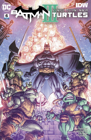 Batman / Teenage Mutant Ninja Turtles III #6