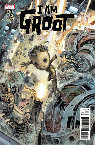 I Am Groot #2 (Henrichon Cover)