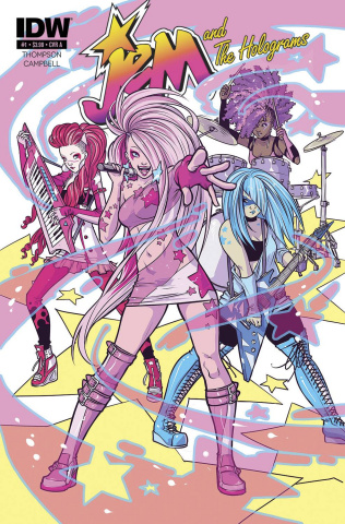 Jem and The Holograms #2 (2nd Printing)