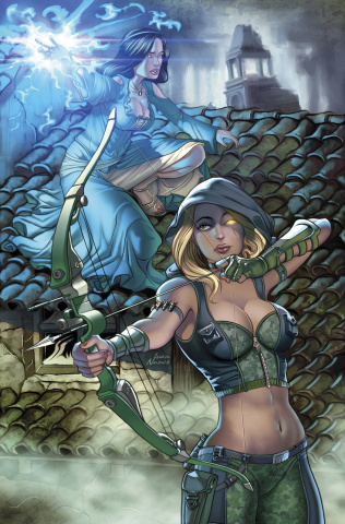 Grimm Fairy Tales: Robyn Hood - The Legend #2 (Nunes Cover)