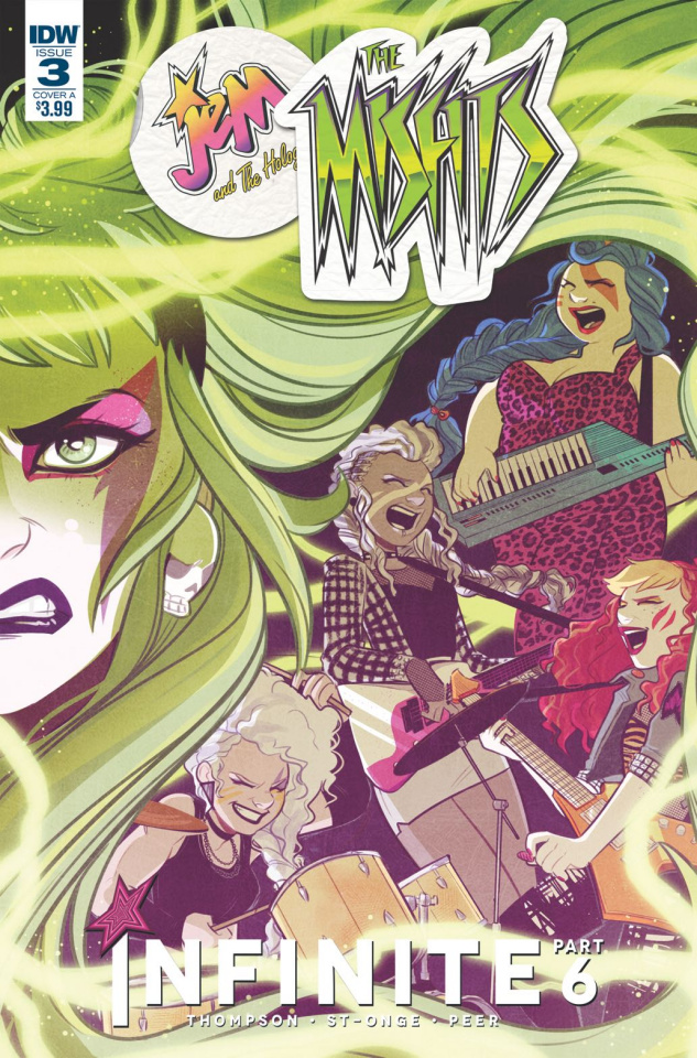 Jem and The Misfits: Infinite #3 (St. Onge Cover)