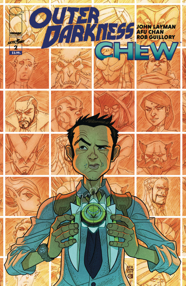Outer Darkness / Chew #2 (Chan Cover)