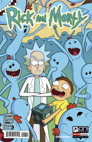 Rick and Morty #26 (Fridolfs Cover)