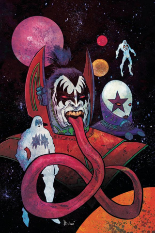 KISS #9 (10 Copy Strahm Virgin Cover)