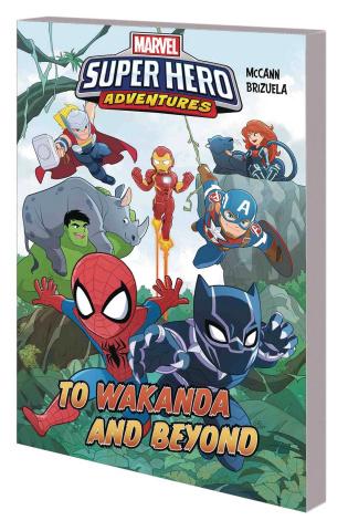 Marvel Superhero Adventures: To Wakanda and Beyond