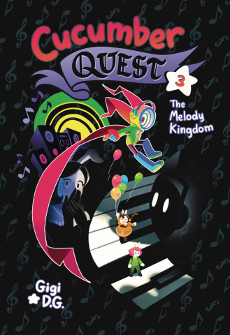 Cucumber Quest Vol. 3: The Melody Kingdom