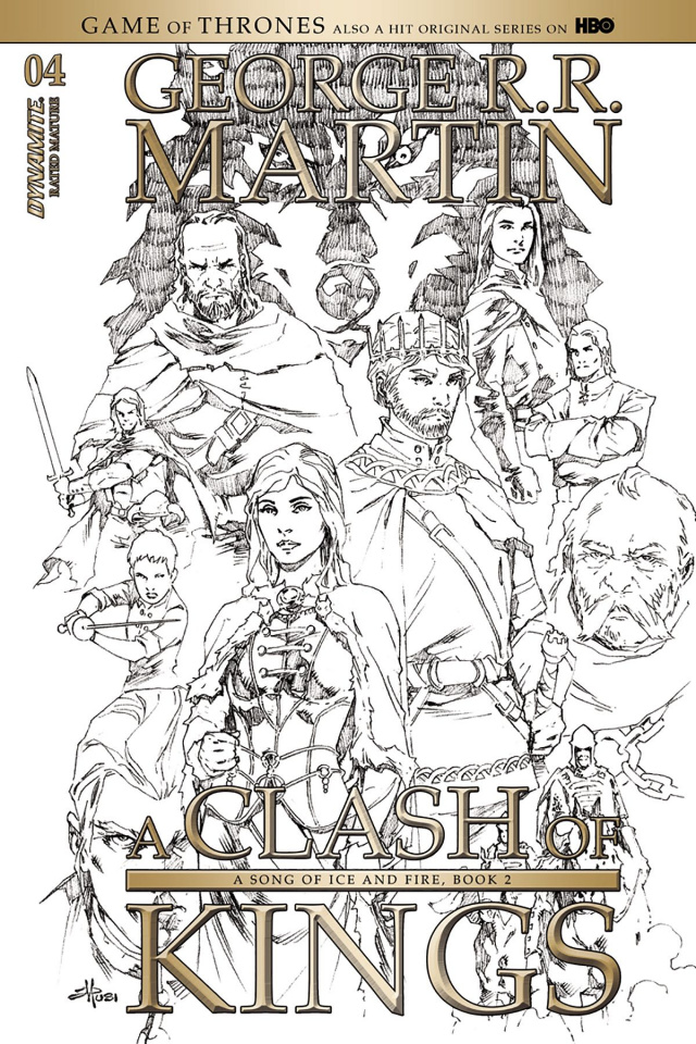 A Game of Thrones: A Clash of Kings #4 (15 Copy Cover)