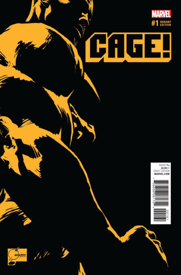 Cage #1 (Quesada Cover)