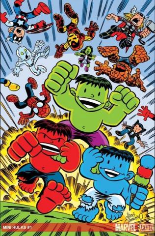 Hulk-Sized Mini-Hulks #1