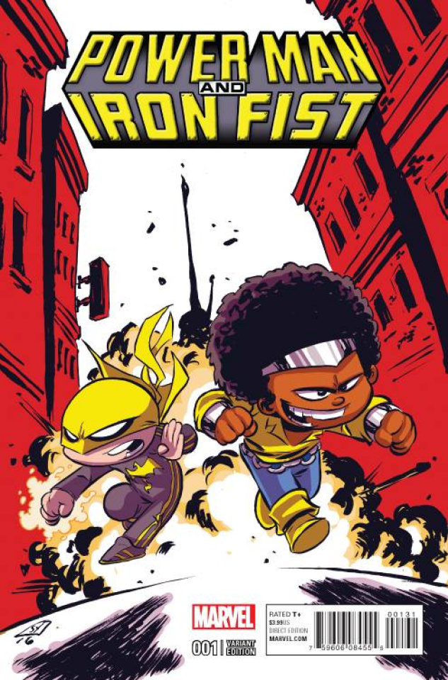 Power Man & Iron Fist #1 (Young Cover)