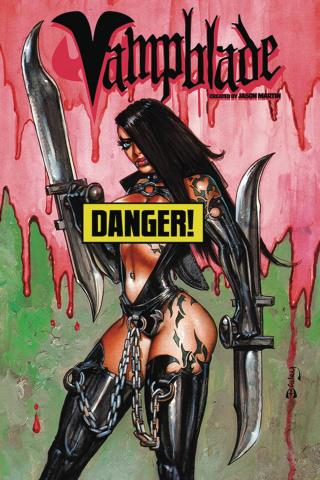 Vampblade #1 (AOD Simon Bisley Risque Cover)