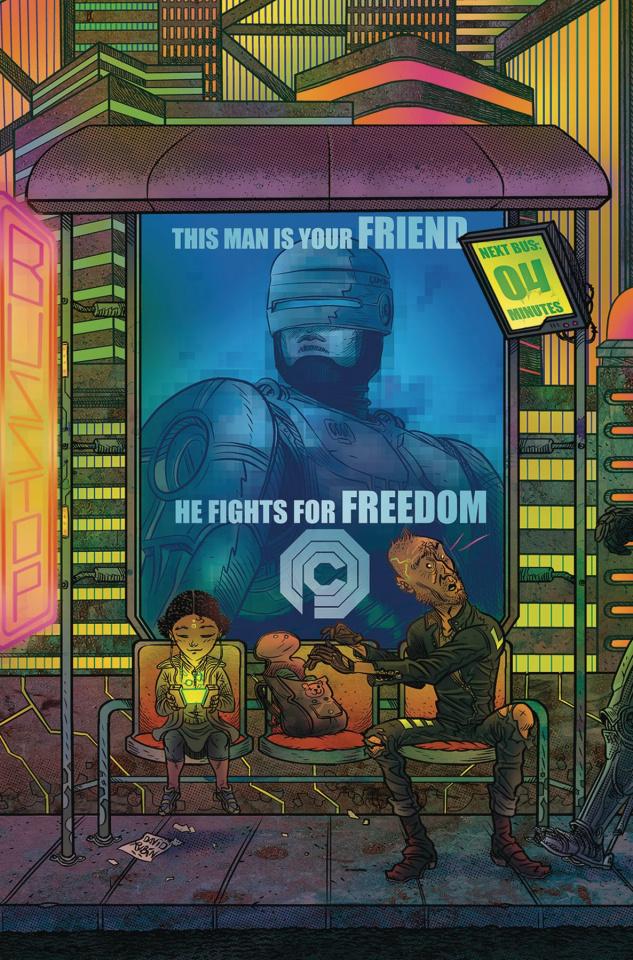 RoboCop: Citizen's Arrest #4 (Subscription Rubin Cover)