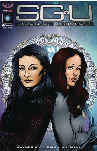 Stargate Universe: Back to Destiny #4 (Larocque Cover)