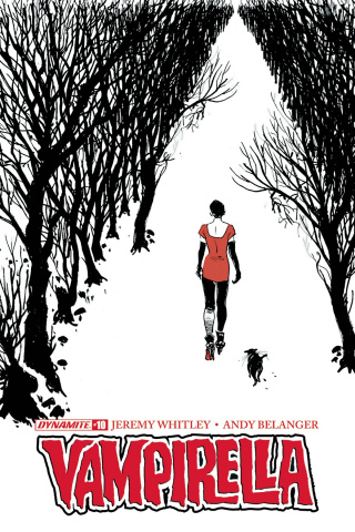 Vampirella #10 (Broxton Subscription Cover)