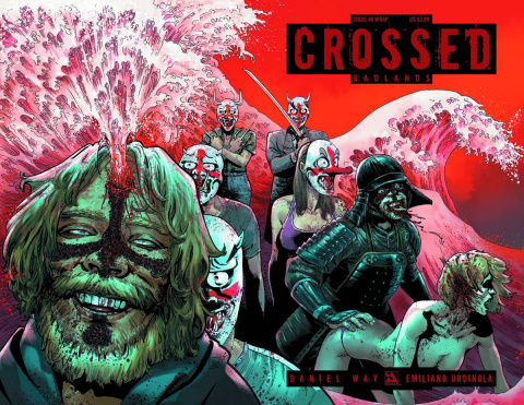 Crossed: Badlands #46 (Wrap Cover)