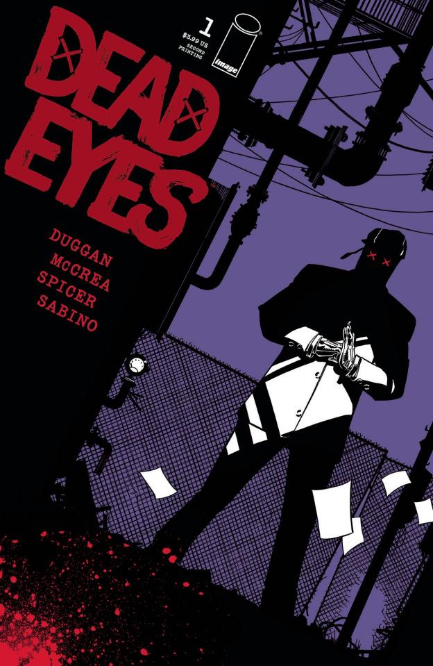 Dead Eyes #1 (2nd Printing)