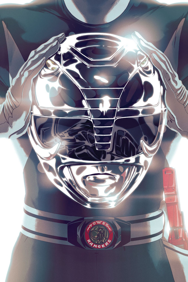 Mighty Morphin' Power Rangers #45 (Foil Montes Cover)
